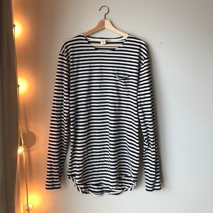 Urban Outfitters Feathers Long Sleeve Tee